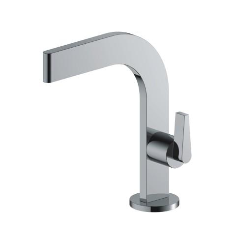 SANITAIR 05049 - Alpha toiletkraan staand plat chroom