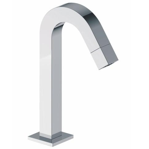 SANITAIR 05061 - Kappa toiletkraan staand gebogen vierkant chroom
