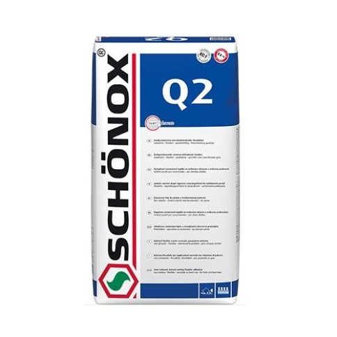LIJM EN VOEGEN 02009 - Schonox Q2 poederlijm 25KG